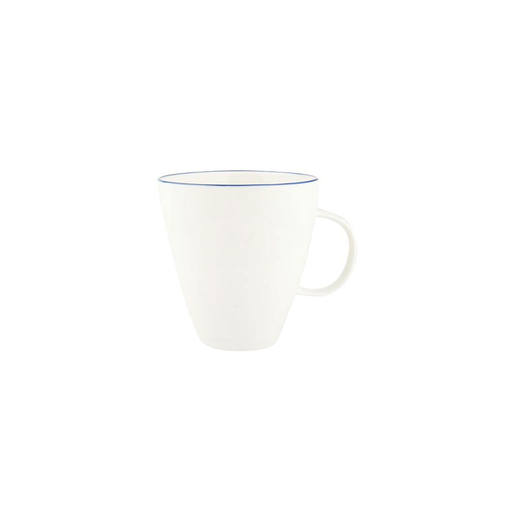 Abbesses Mug with Blue Rim
