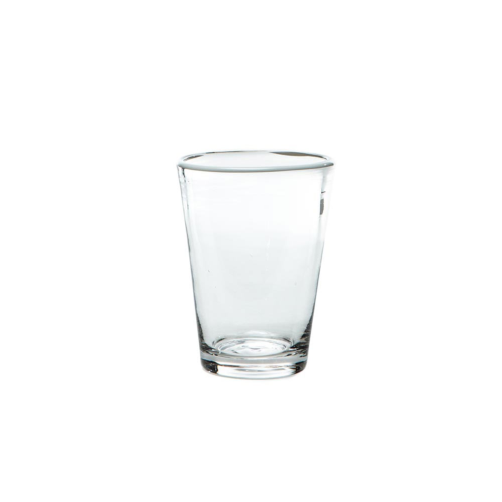 White Color-Pop Juice Glass