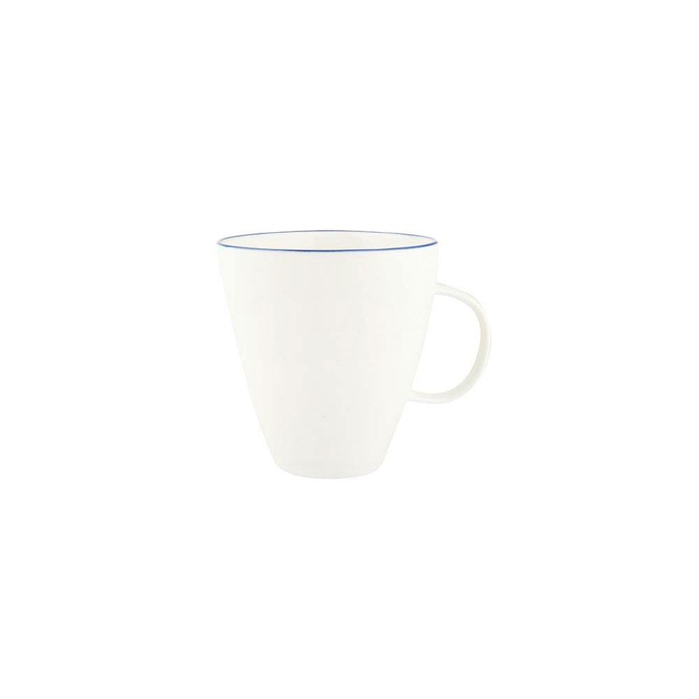 Abbesses Mug with Blue Rim