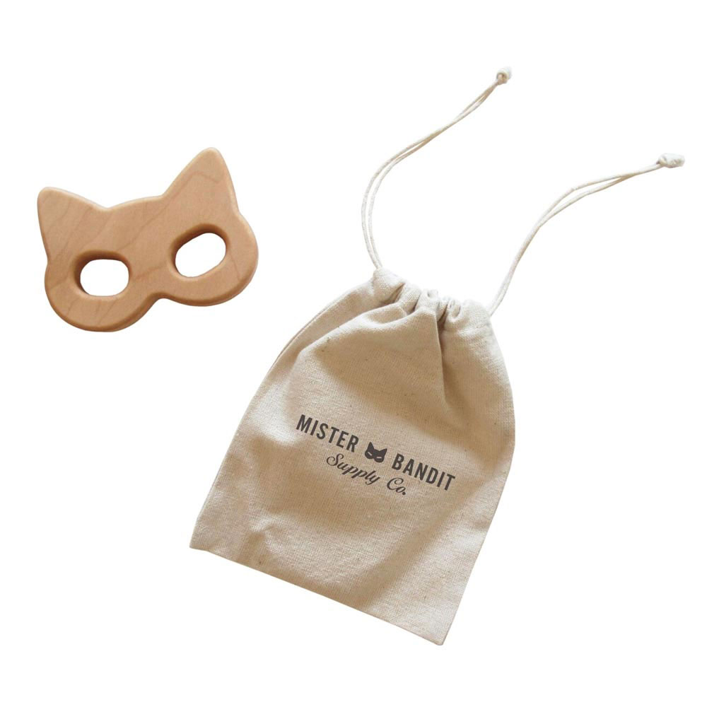 Mask Wooden Teether