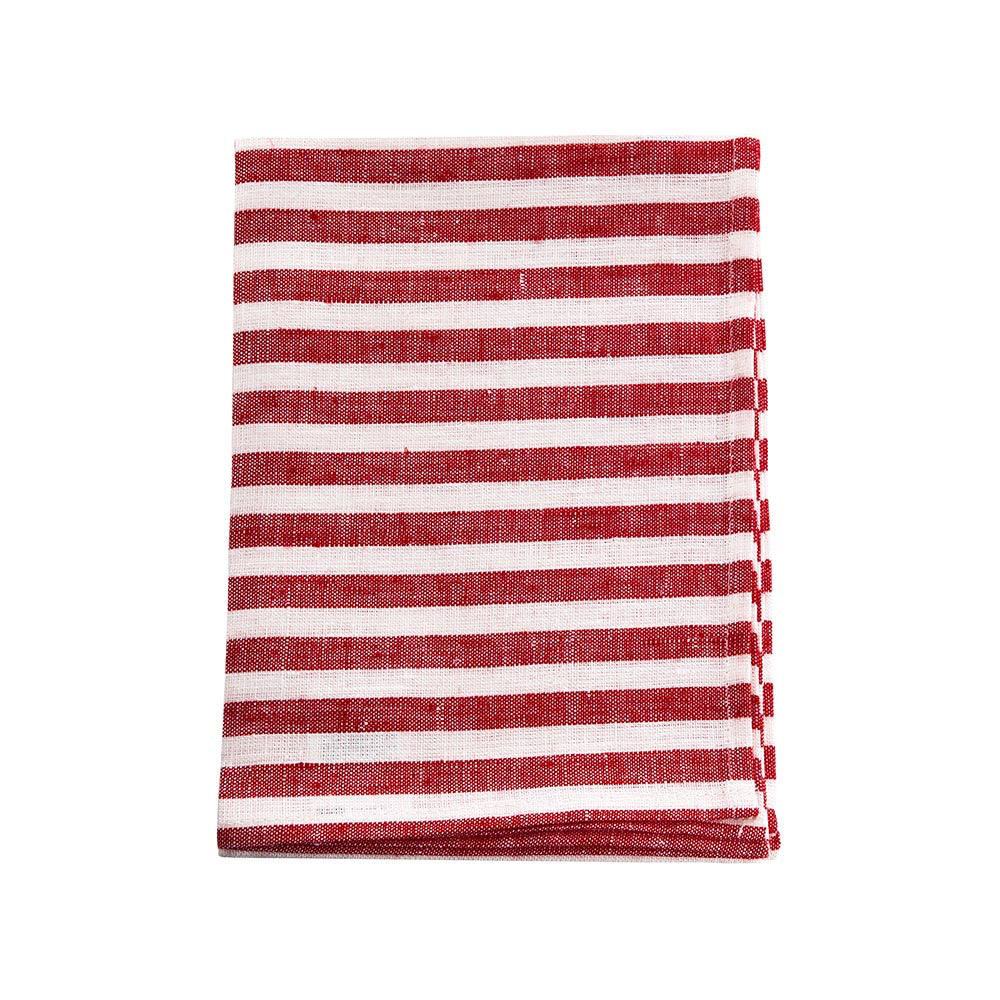Striped Linen Kitchen Cloths