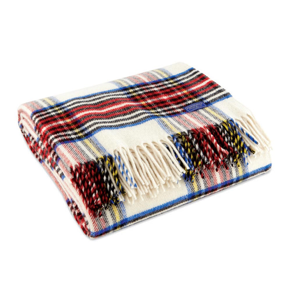Dress Stewart Wool Throw