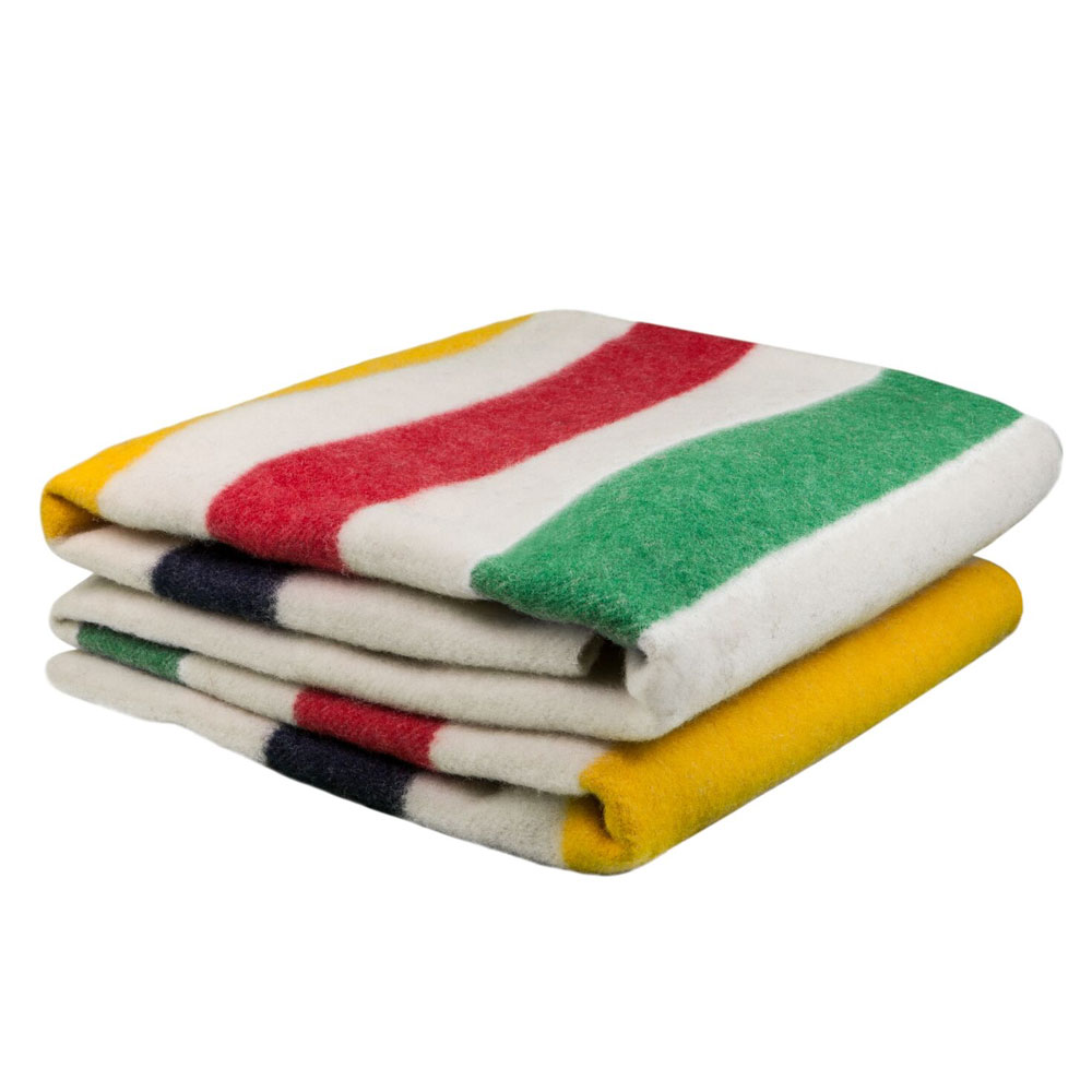 Multistripe Iconic Point Blanket