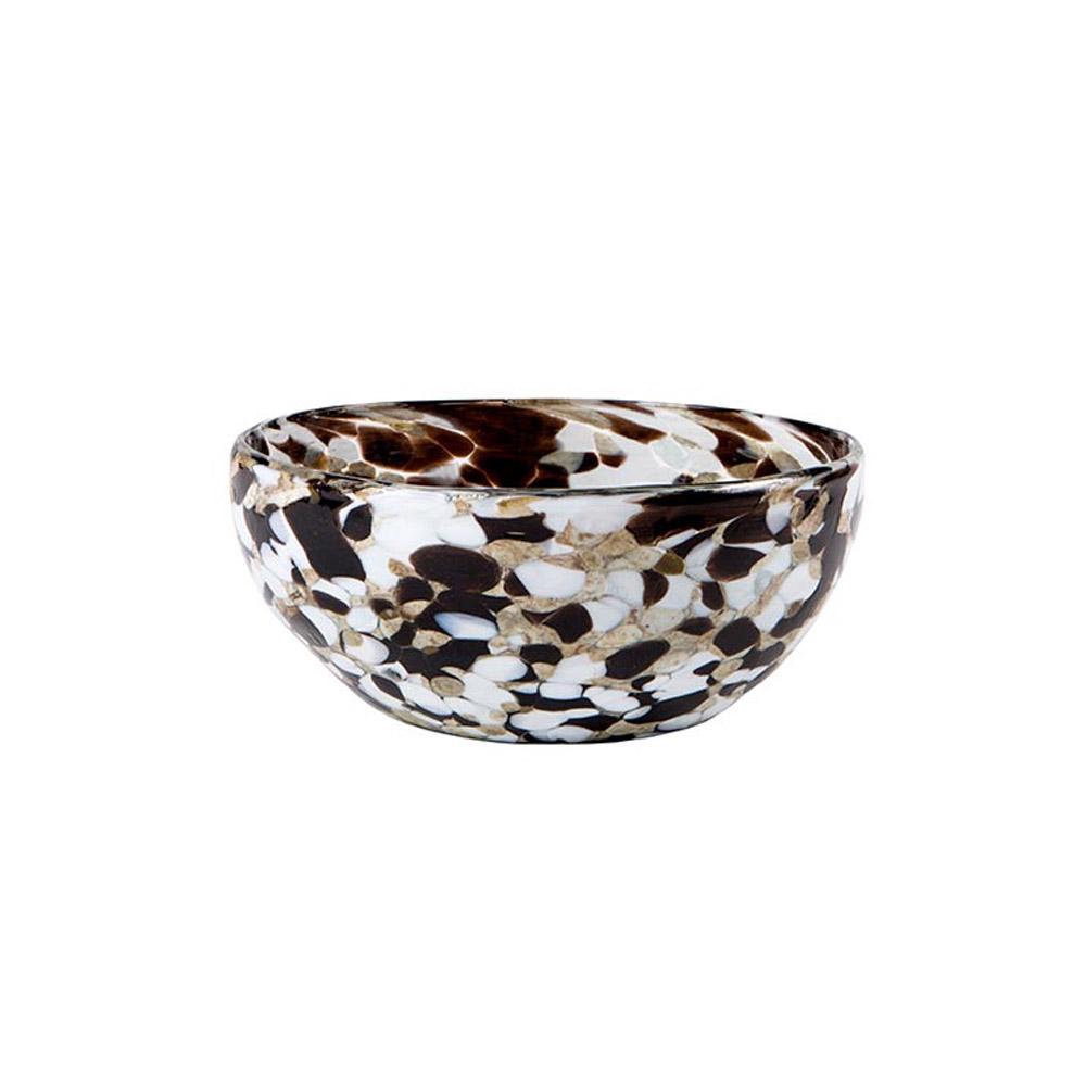 Espresso Confetti Bowl