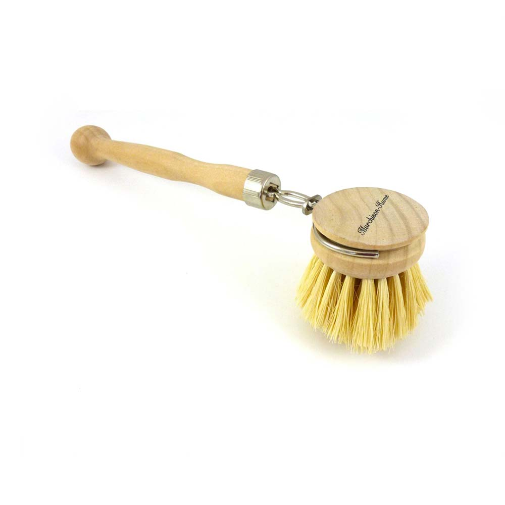 Natural Bristle Dish Brush