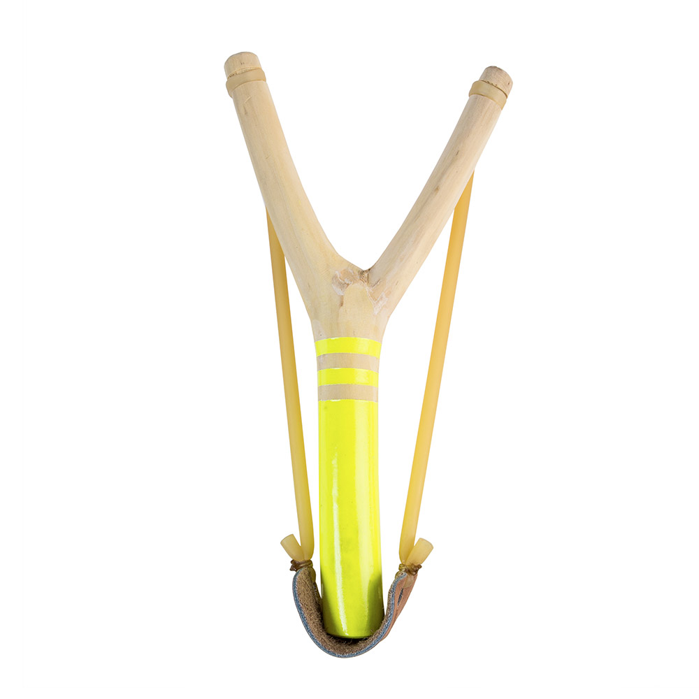Neon Yellow Slingshot