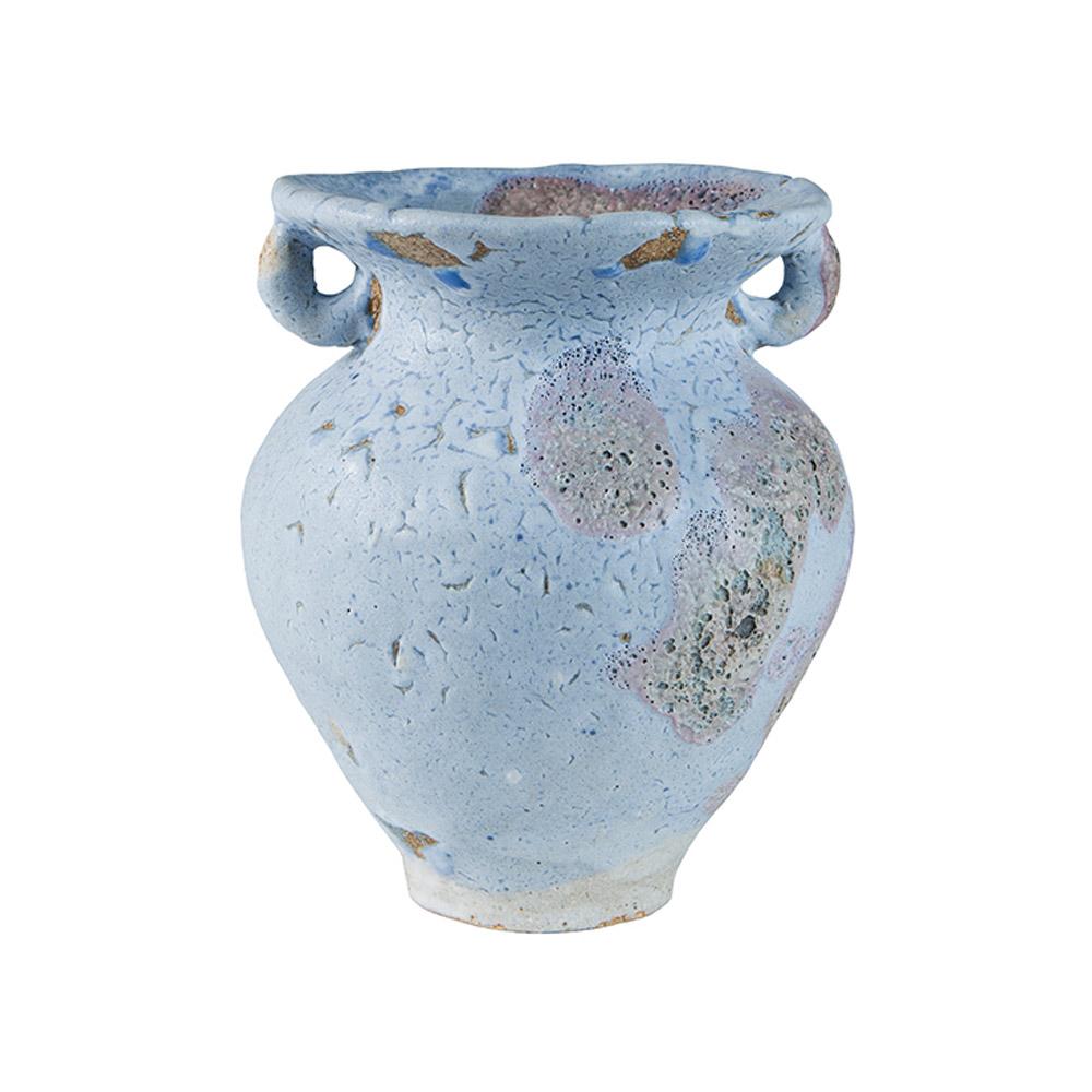 Fig. AL Blue Ceramic Vase