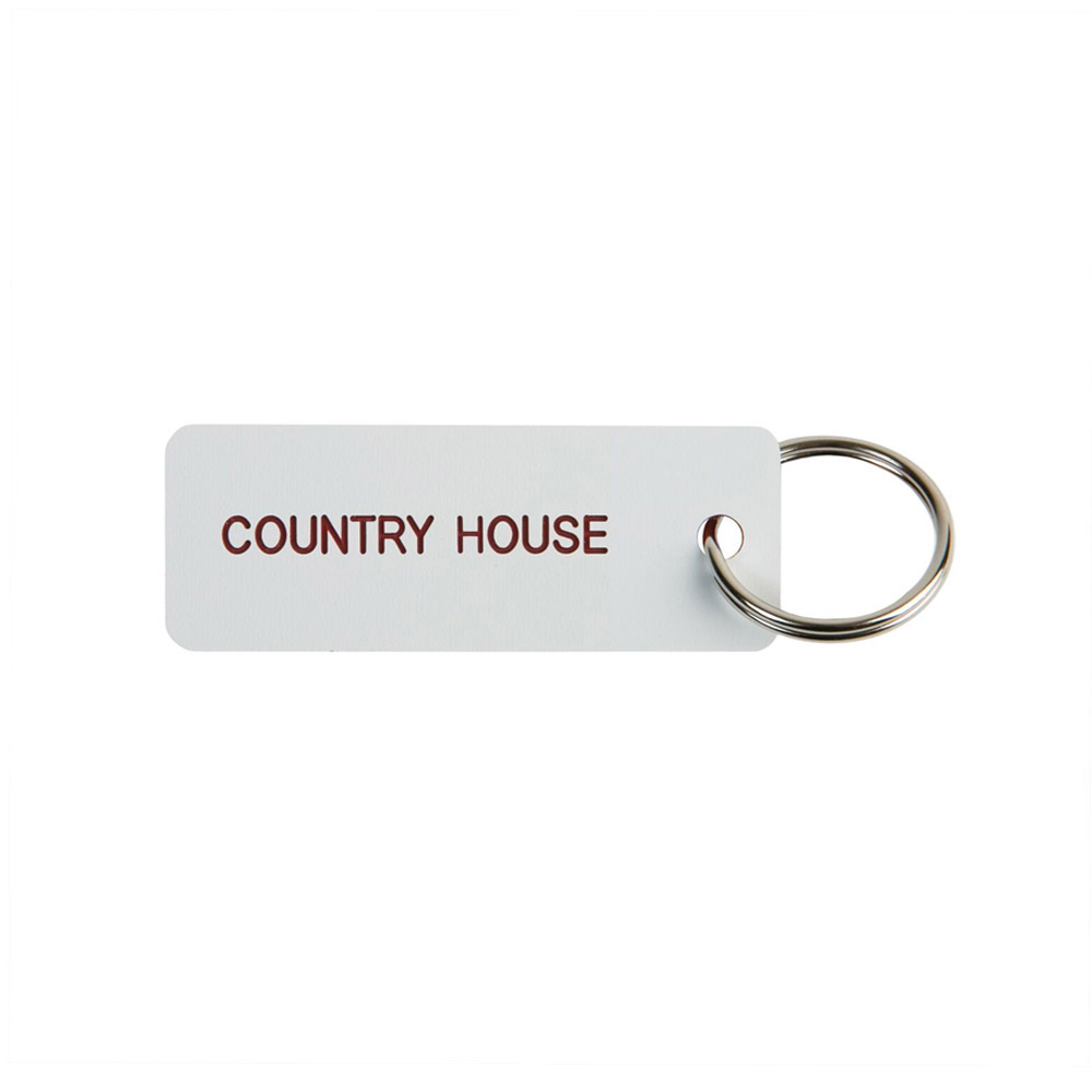 Engraved Key Tag