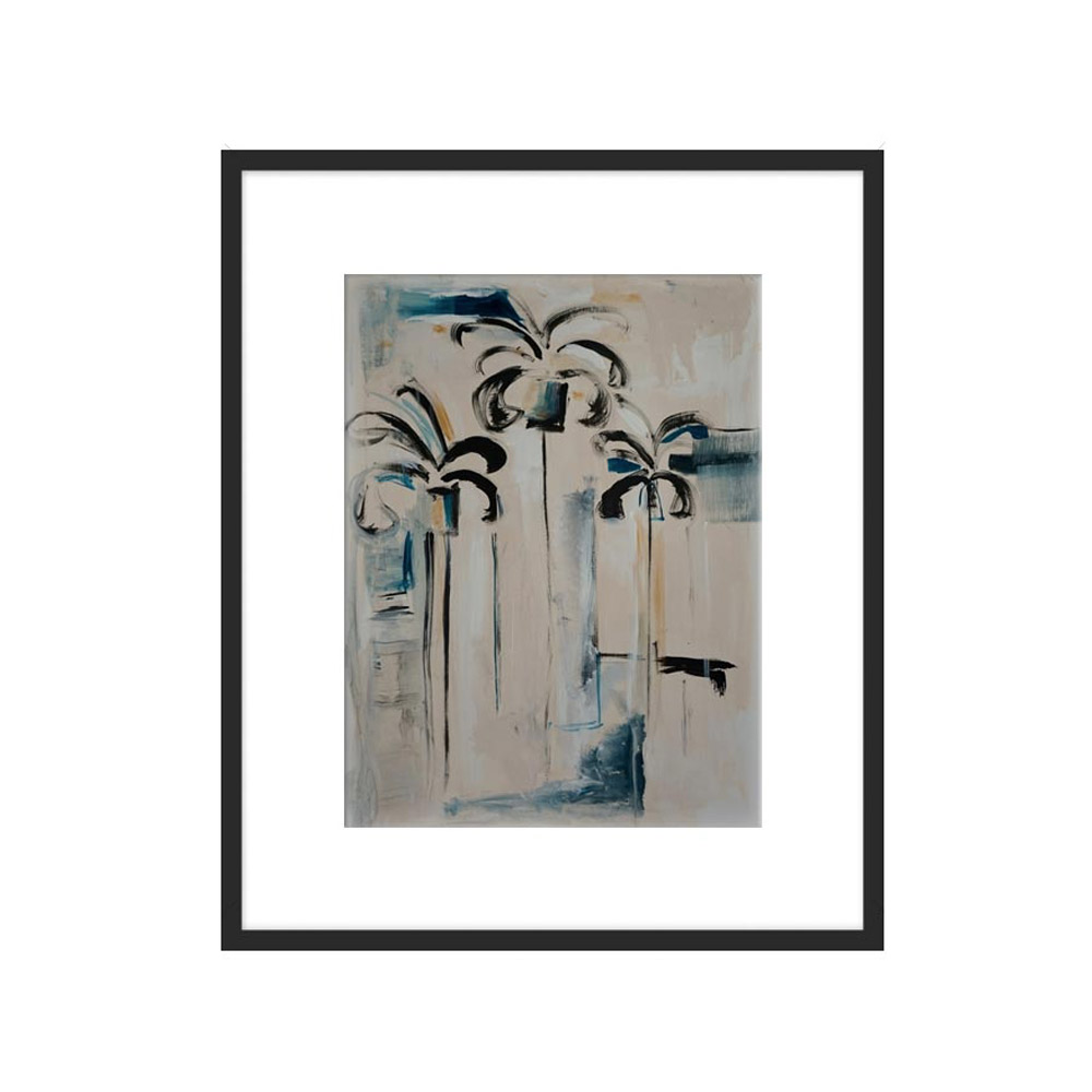Emerging Palms by Kristin Gaudio Endsley for Artfully Walls