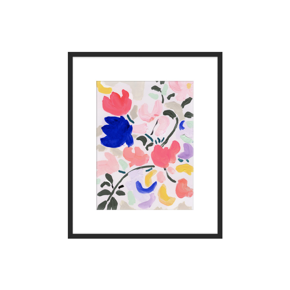 Spring Petals by KT Smail for Artfully Walls