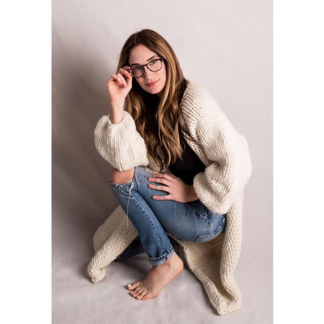 Baby it's cold outside, so we're bundling up in our Ivory Chunky-Knit Jacket, sustainably made and ethically produced by artisans in Peru @sienandco . Shop with a purpose at The Maryn. #marynstyle