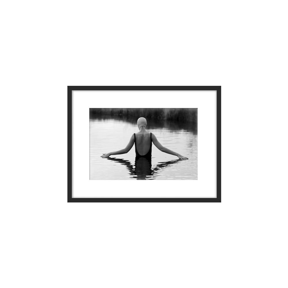 The Swimmer in a Pond by Lucy Snowe for Artfully Walls