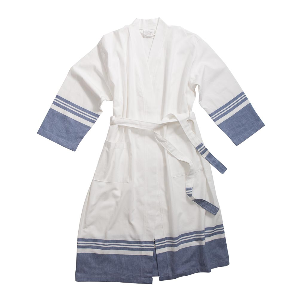 Navy Peshtemal Robe