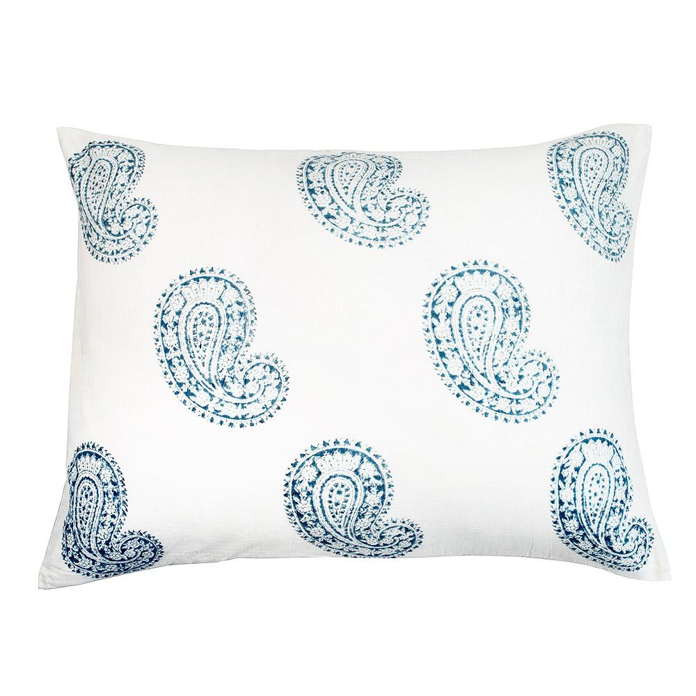 Josephine Pillow Cover in Indigo (Pair)