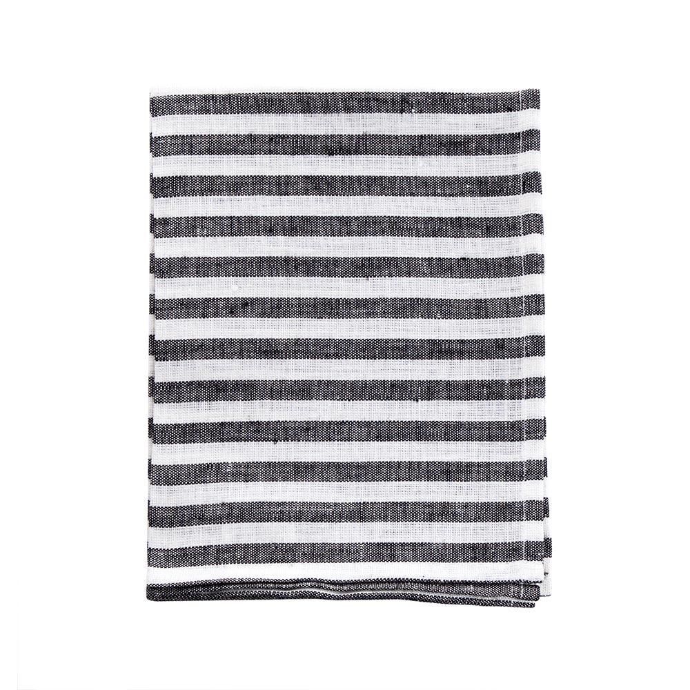 Striped Linen Kitchen Cloths