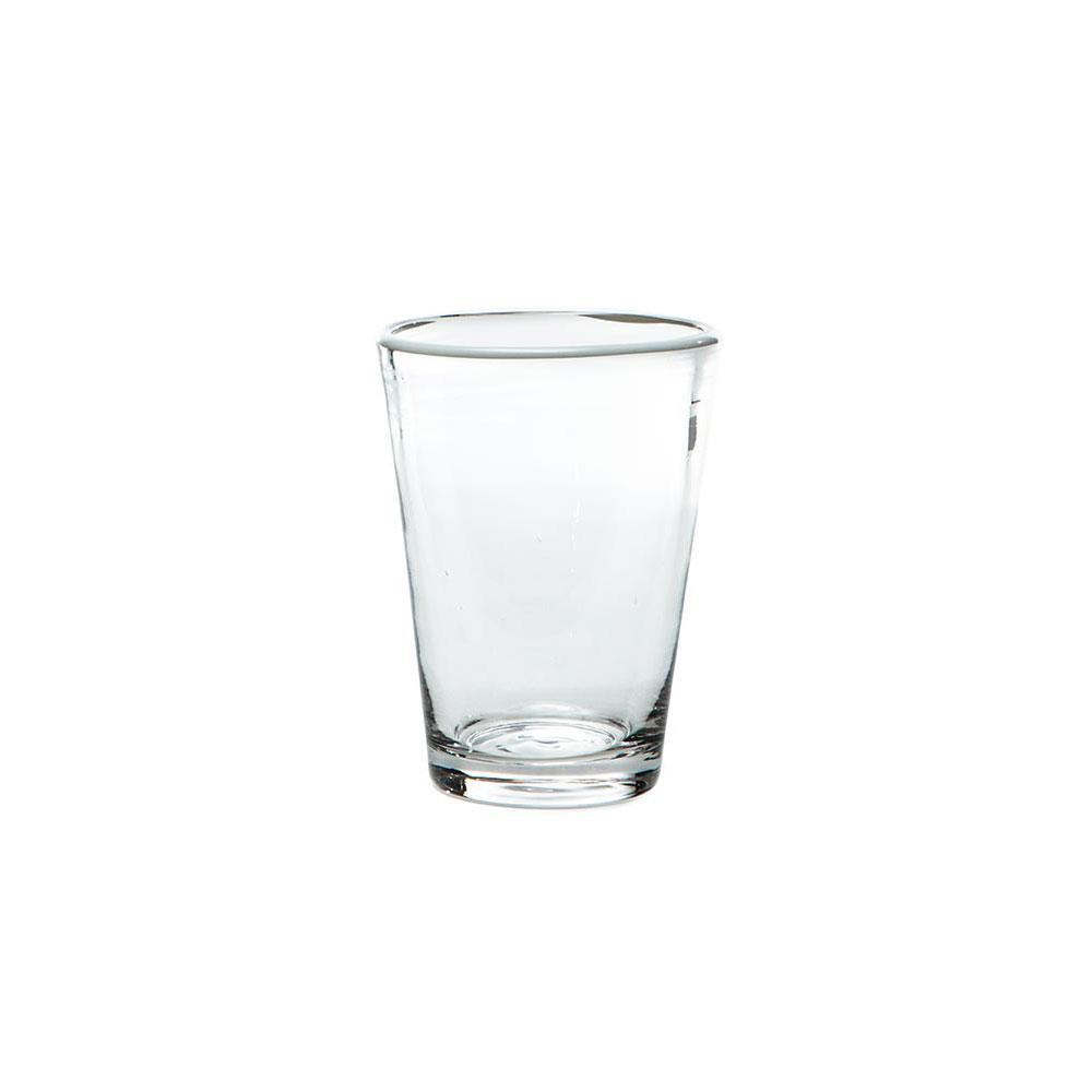 White Color-Pop Juice Glass