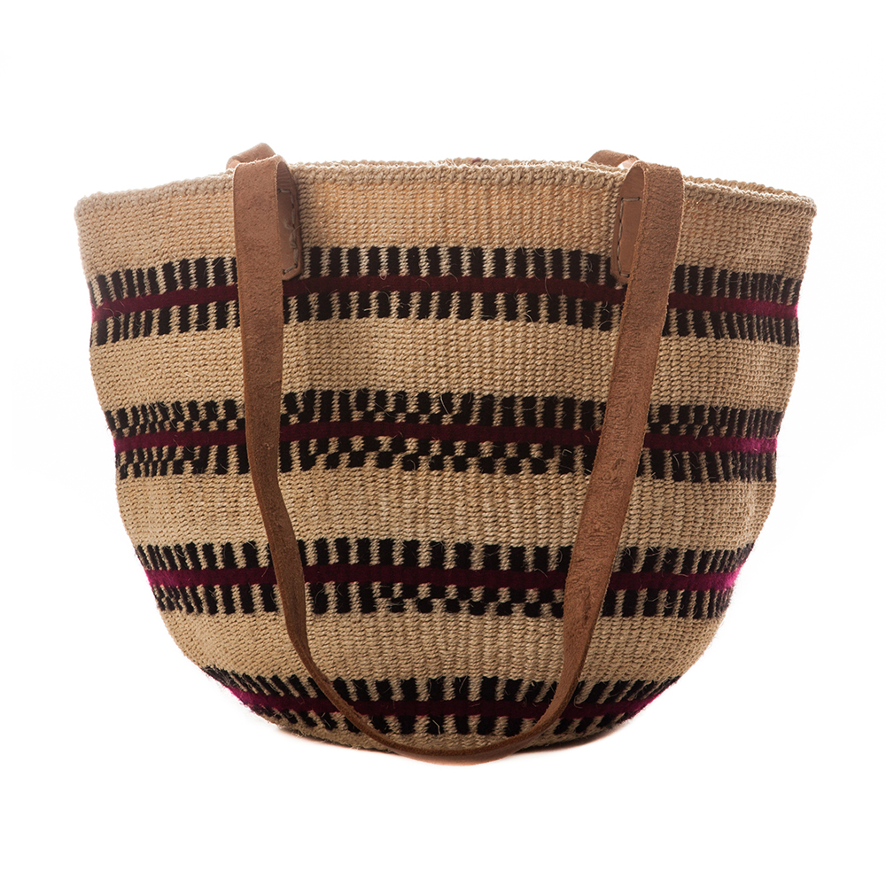 Large-Weave Taita Tote
