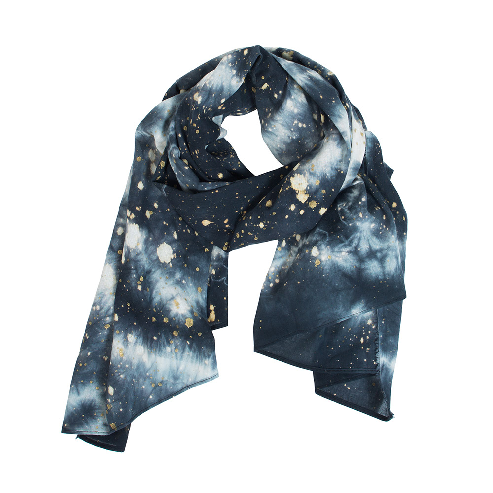 Black Cosmic Scarf
