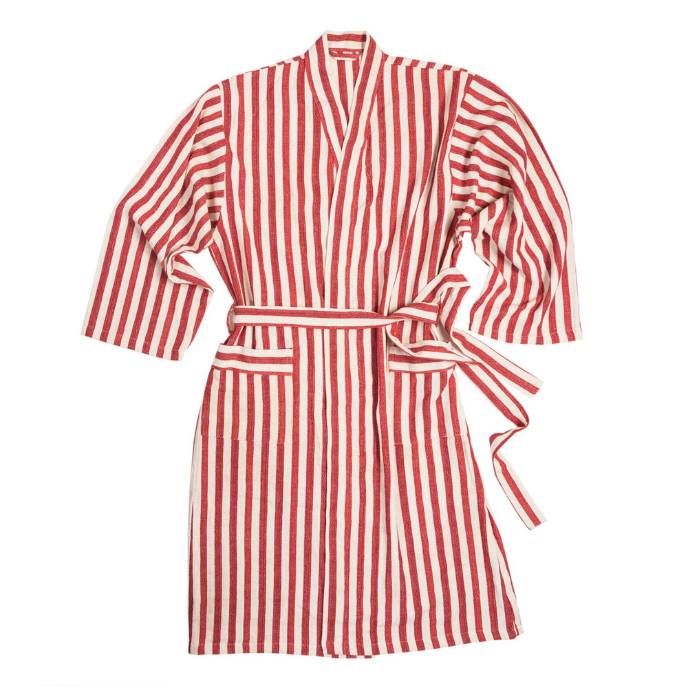 Eve Handwoven Linen Robe