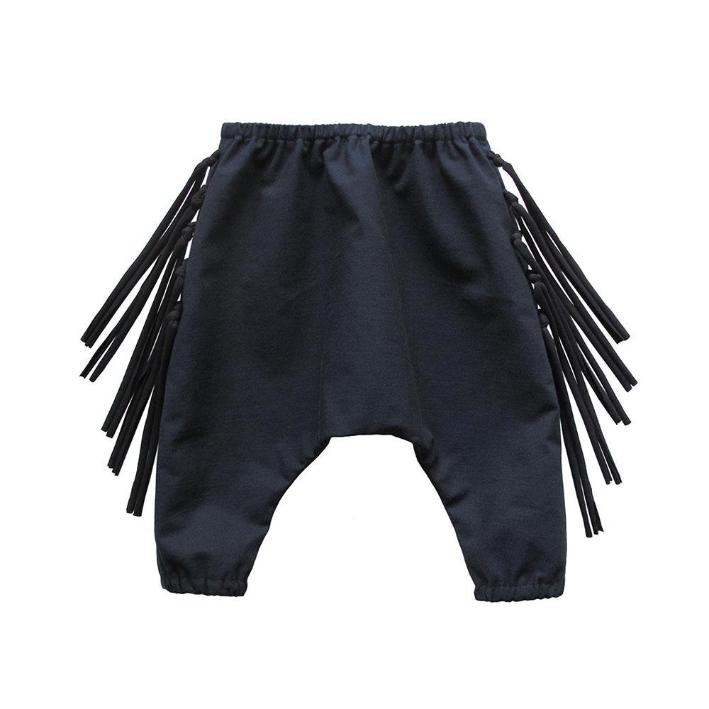 Navy Wild West Pants