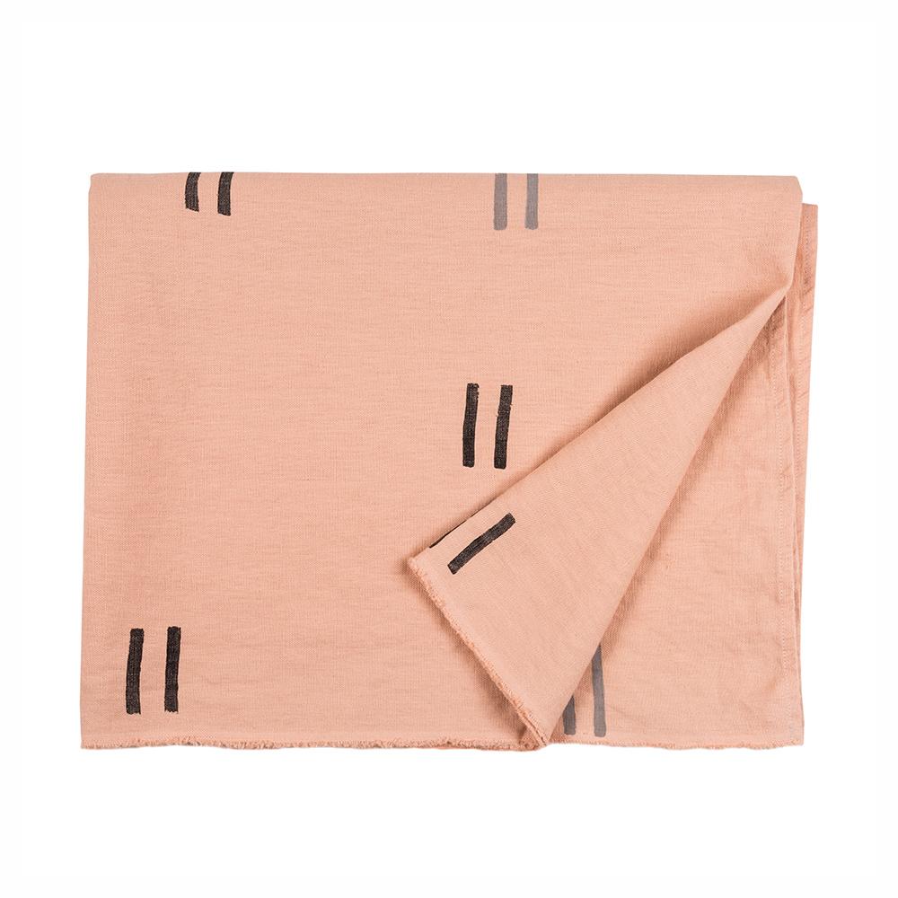 Yucatan Pink Throw