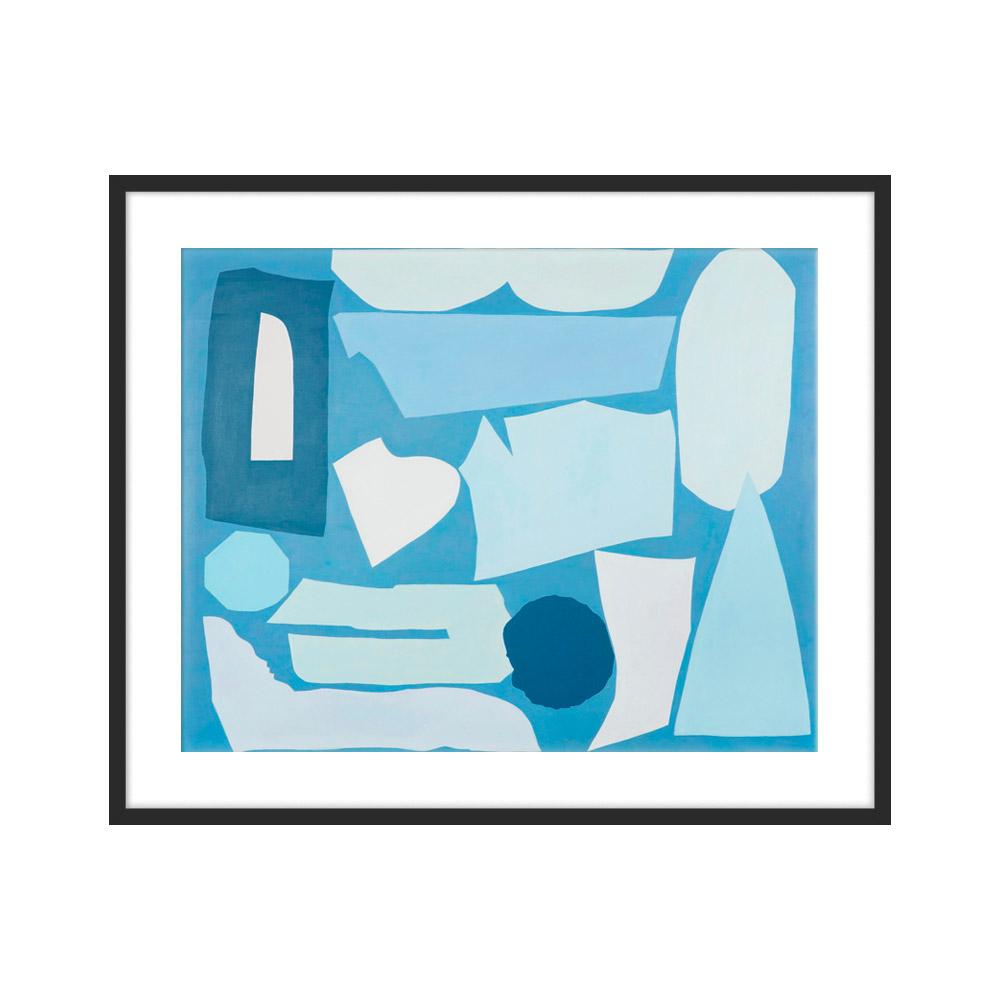 Big blue by Sana Kulic for Artfully Walls