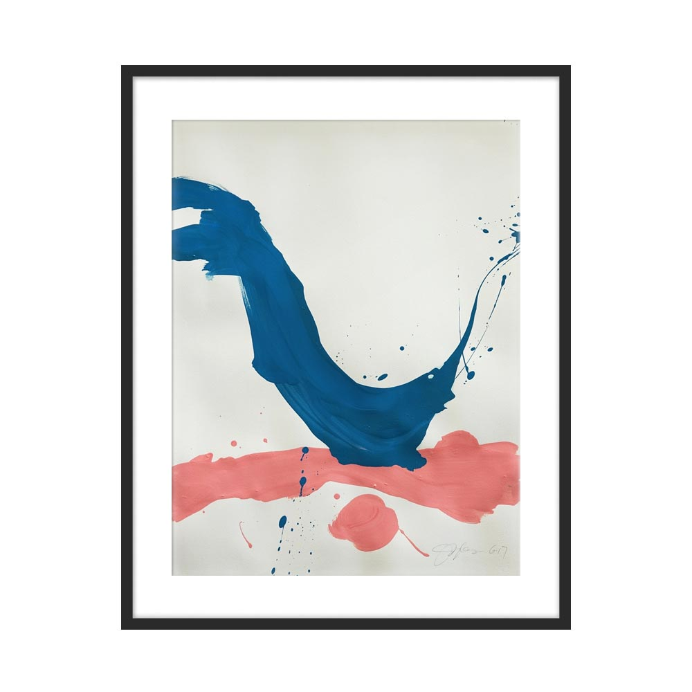 BLUE + PINK by Jill Sykes for Artfully Walls