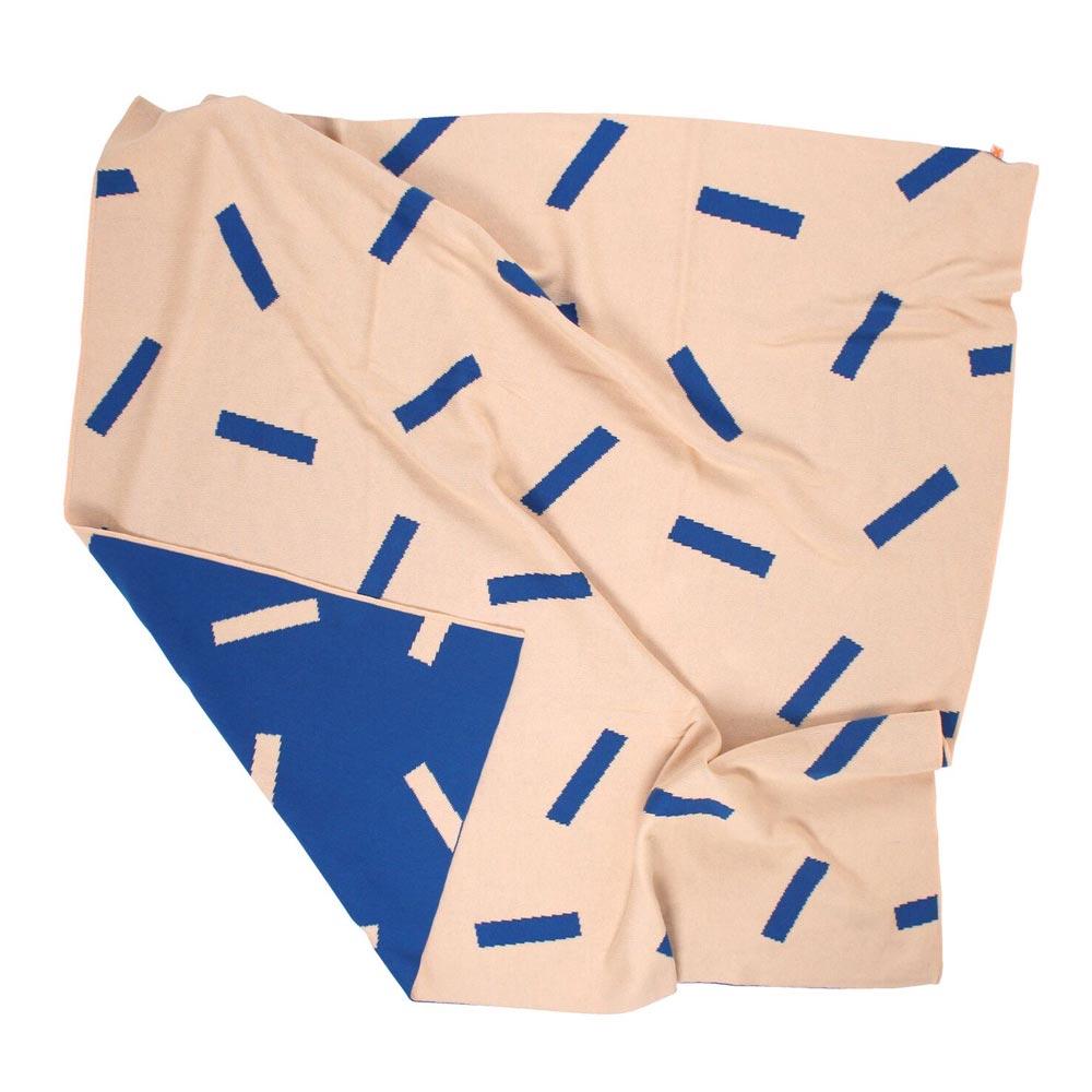 Sticks Knit Blanket