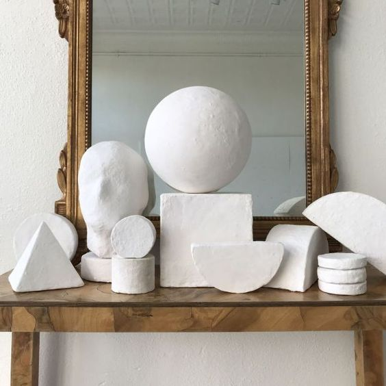 Plaster Sculptures