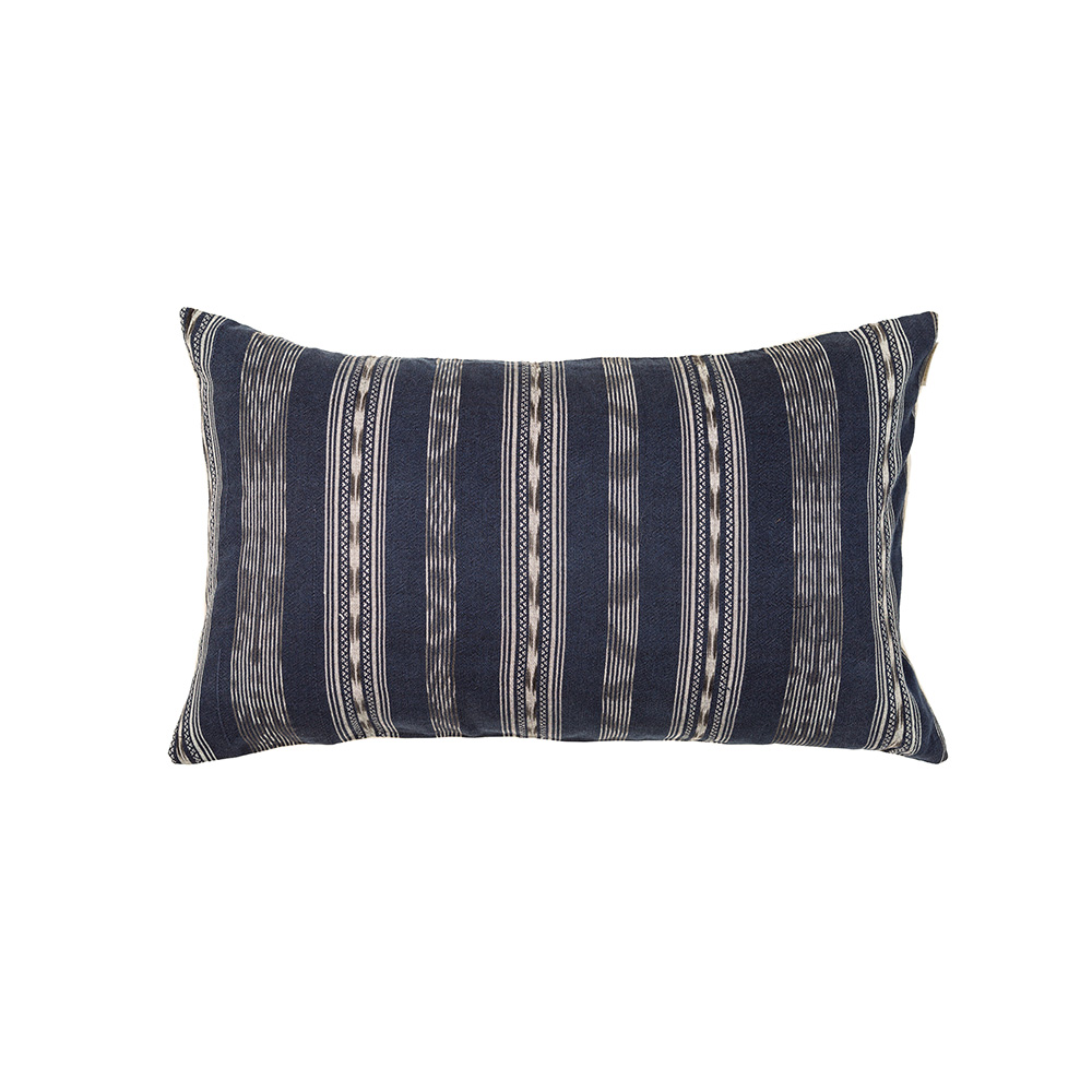 "Indigo Corte Pillow Cover I (12"" x 20"")"