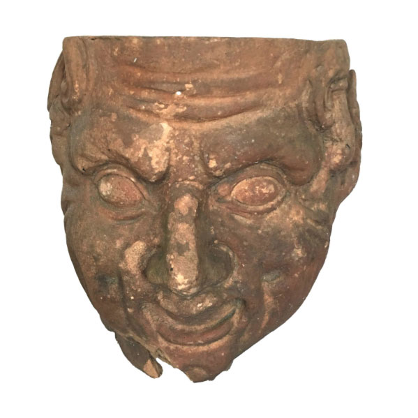 Terracotta Fragment of an Antique Bust
