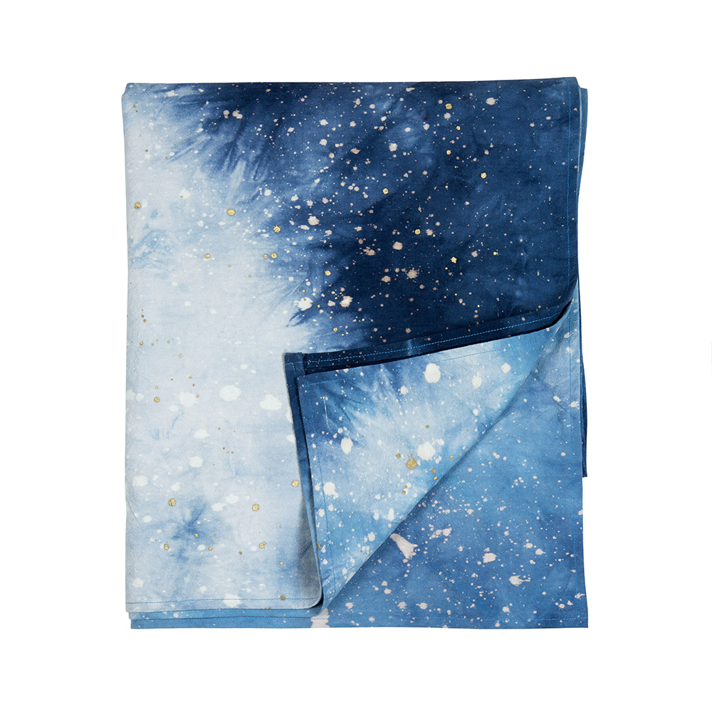 Navy Cosmic Bedspread