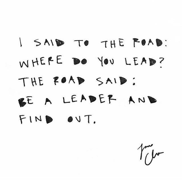 • b e • a • l e a d e r • lead the way 💫 #wisdomwednesday  #yogaforyoungpeople