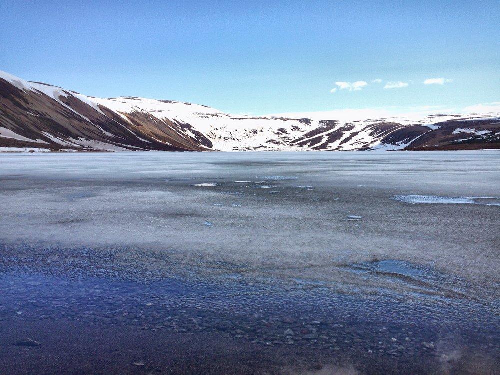 Lake Behind Húsavik - Iceland