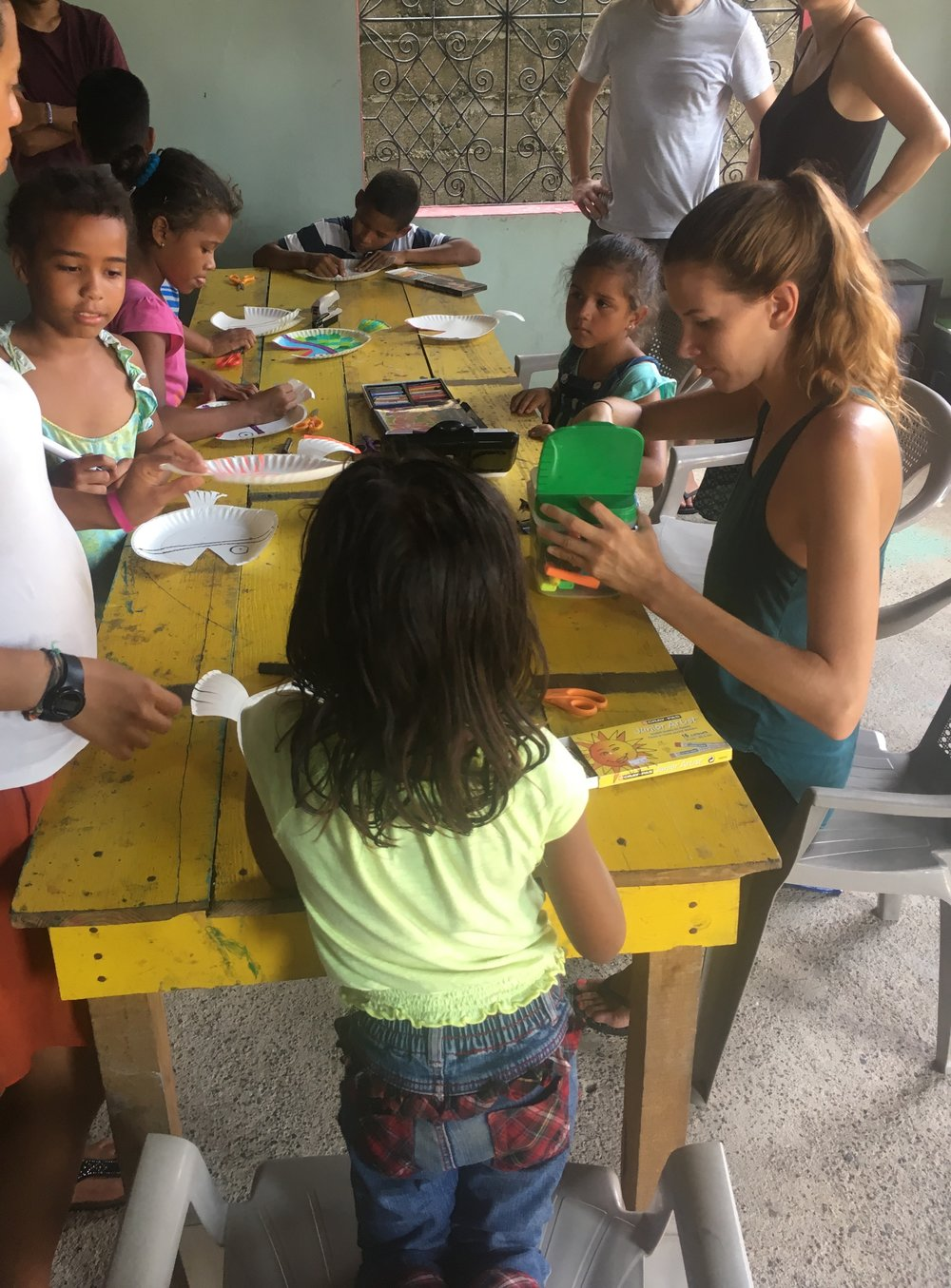 Juno owner, Claire Ketterer, volunteering in Honduras through  lovevolunteers.org