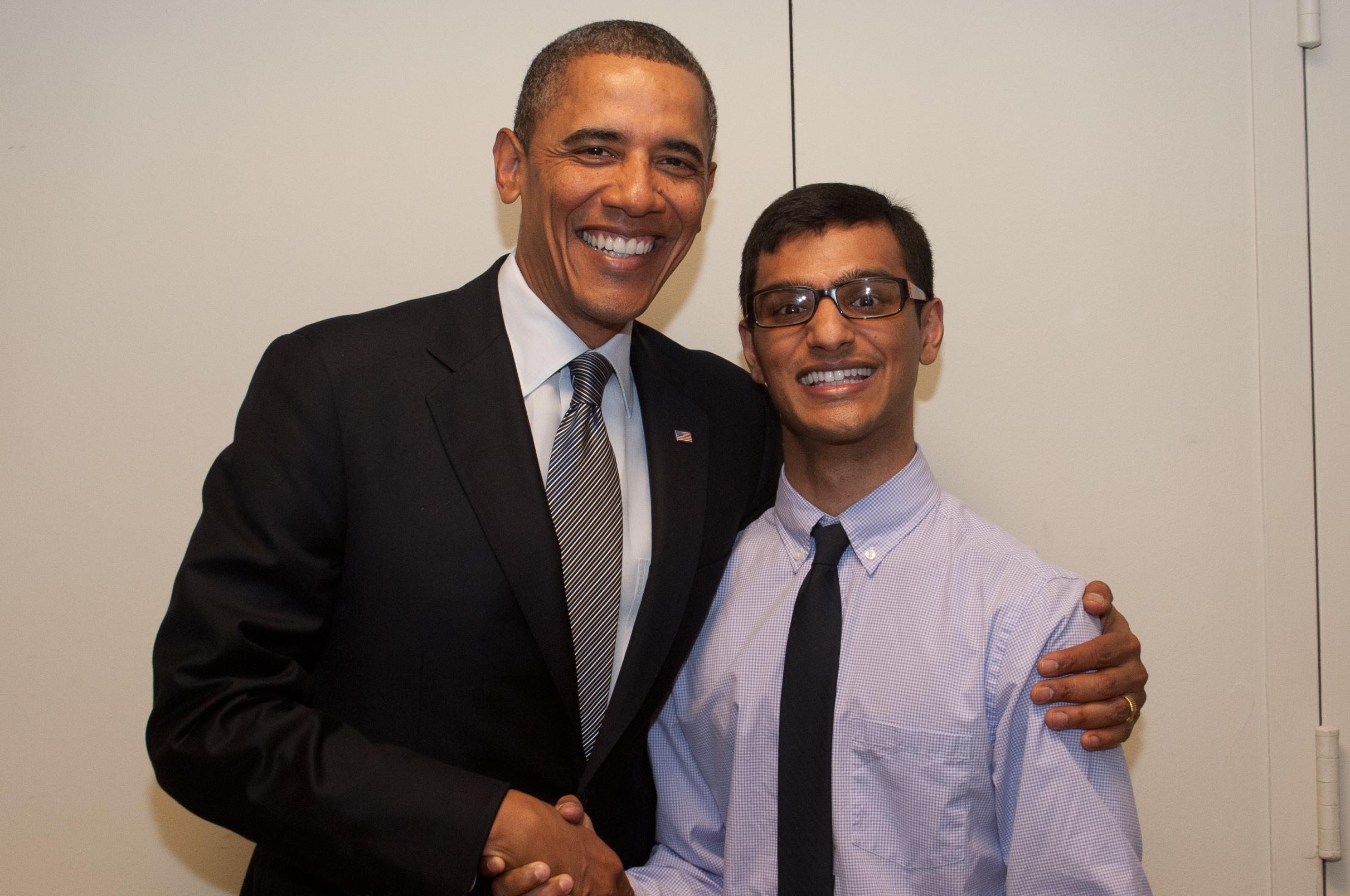 Samarth meets Barack Obama