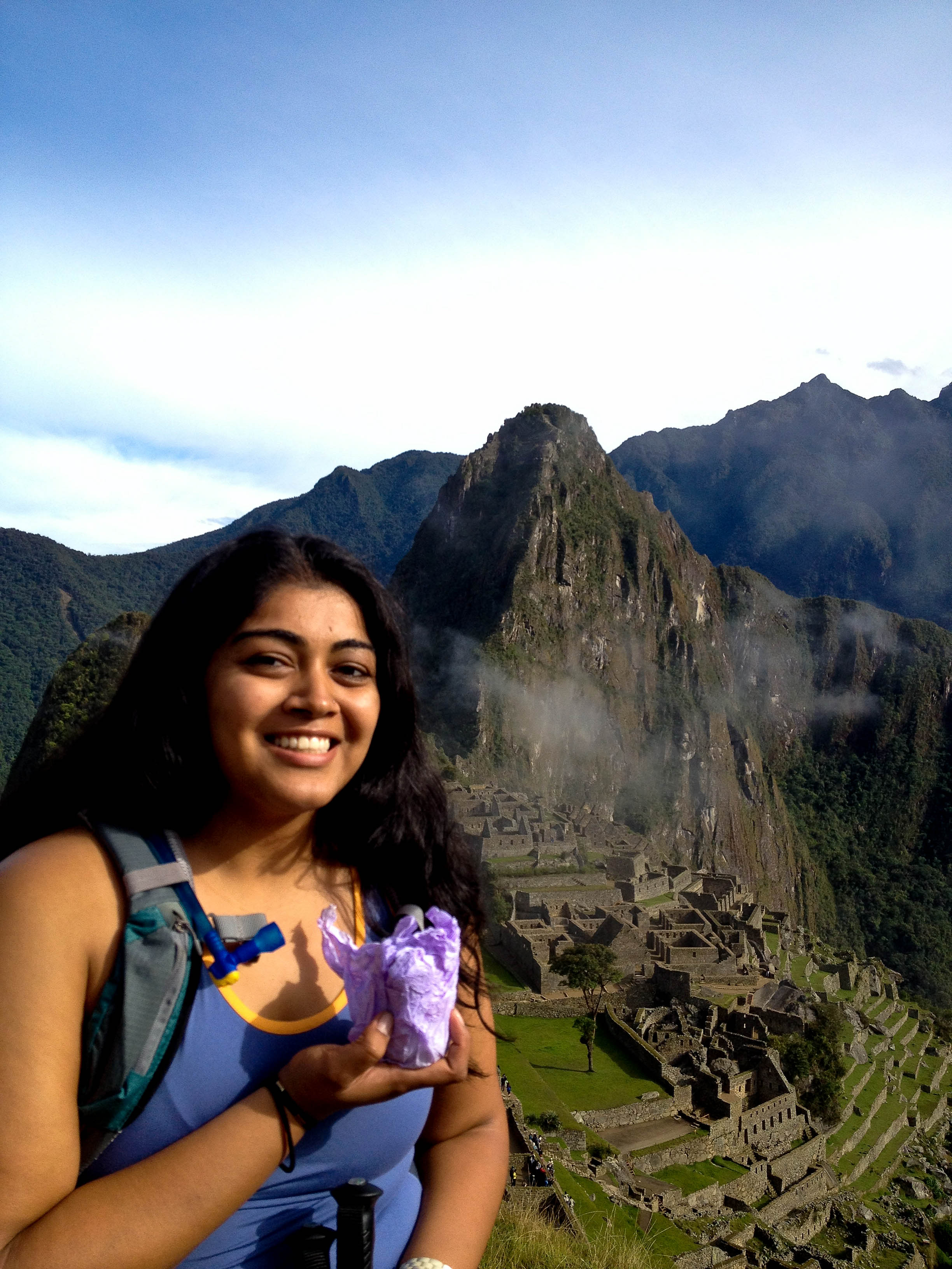 We made it to Machu Picchu