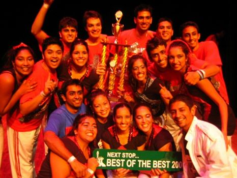 I don't think I would've danced without Bollywood! Picture from the Bollywood Dance Team I captained in 2006/2007.
