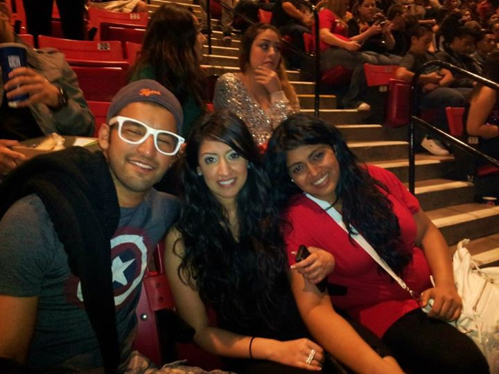 Chirag, Jenn and I at the Drake Concert in San Diego (March 2012)