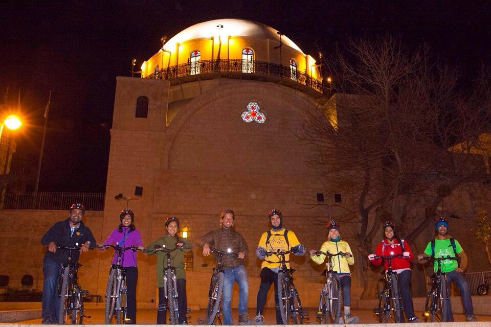 The midnight biking tour gang from my last trip