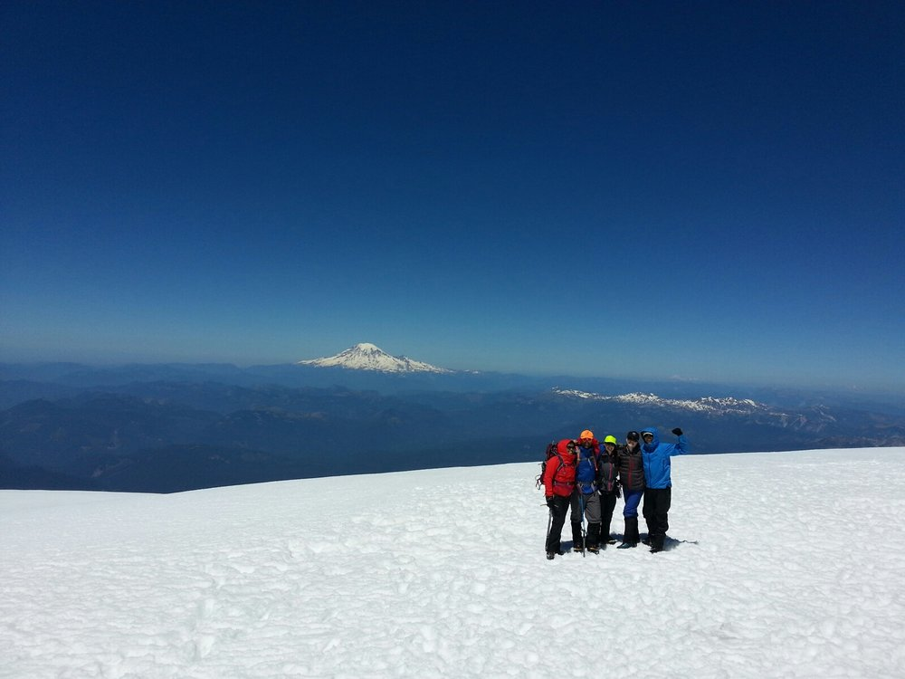 The last time I felt this emotionally, mentally and physically exhausted was after climbing Mt. Adams last summer.