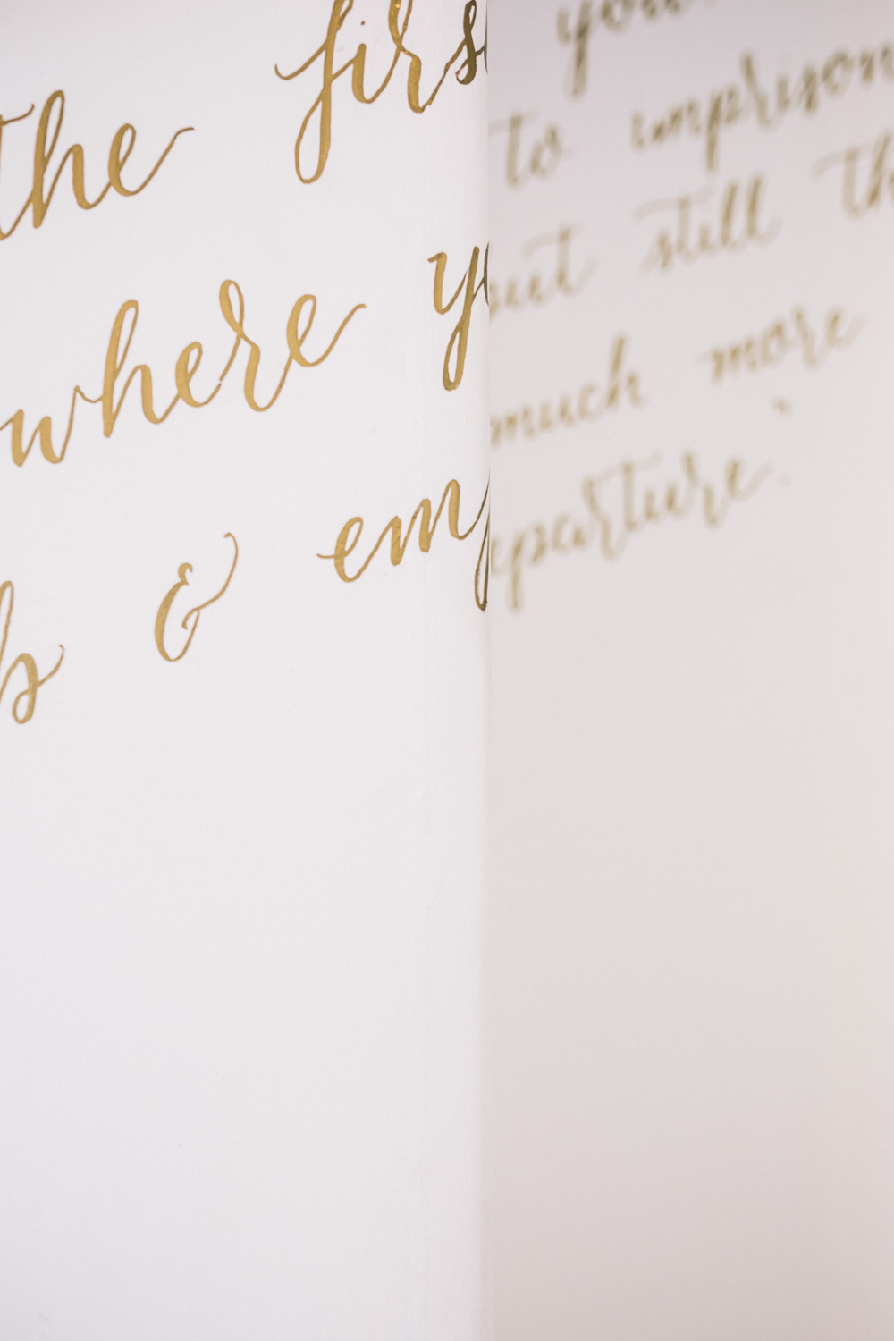 Beautiful hand lettering by Vanessa Hodge from Ink & Dust Designs