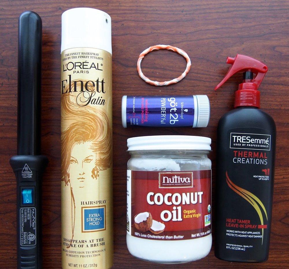 mermaid hair tutorial | beachy waves | products you need for beachy hair |mercuteify