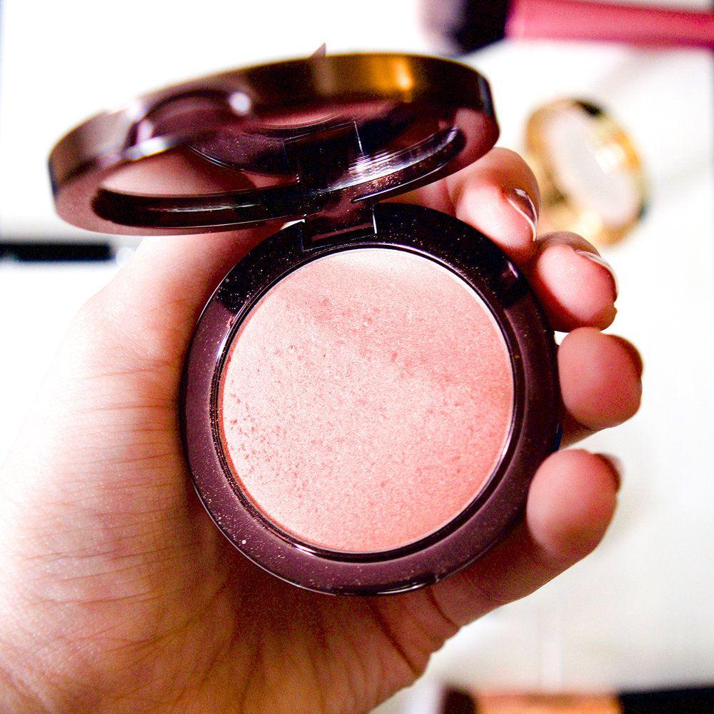 shimmer blush | Makeup Geek Blush | NARS Orgasam dupe | golden blush