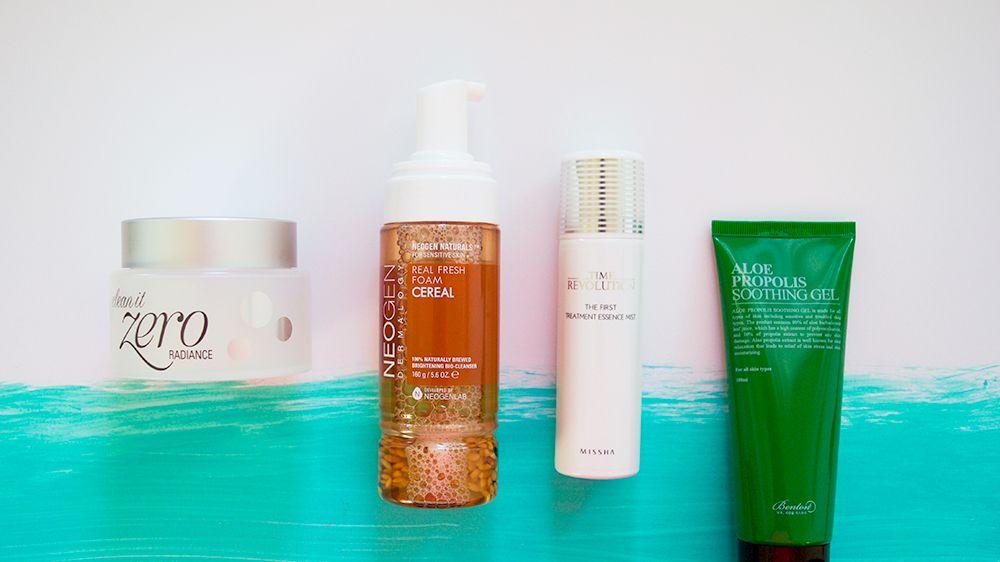 Korean skin care four products you need | Mercuteify