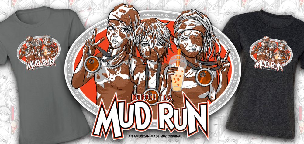 bubble tea mud run