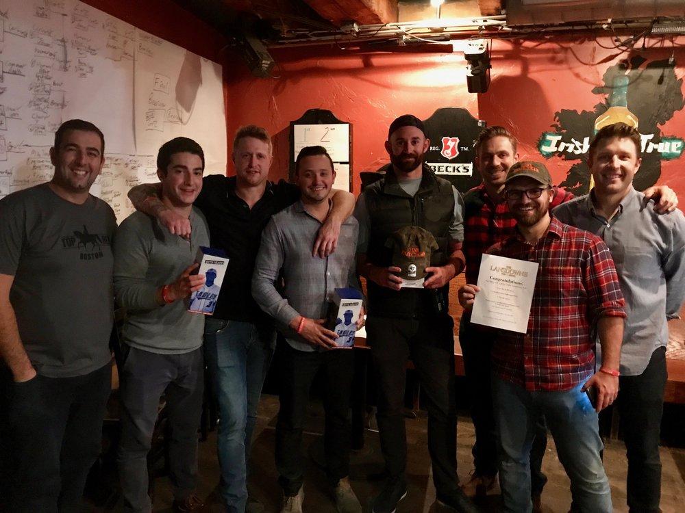 Pong Winners!