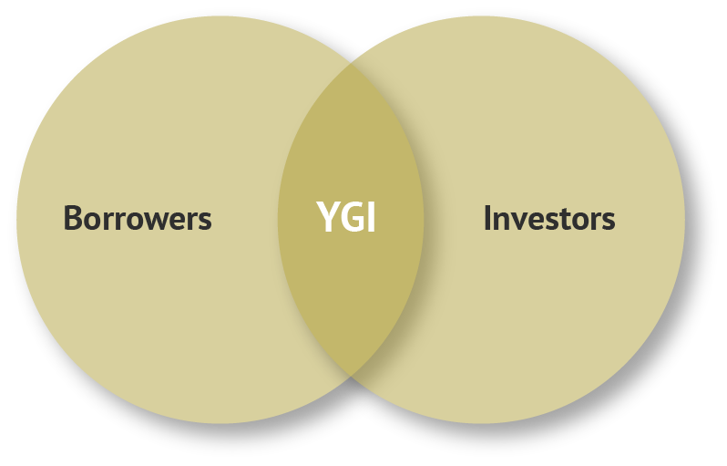 Borrowers,  YouGrow Investments,  Investors