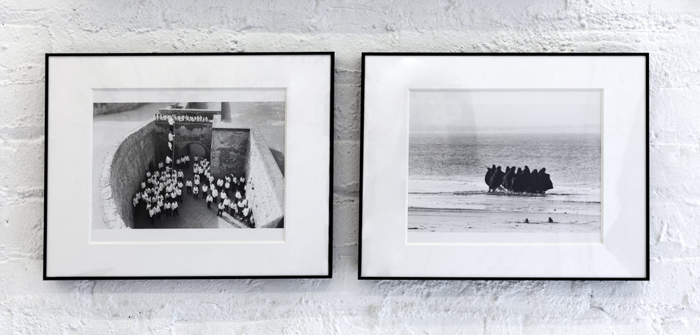 Shirin Neshat, from series Rapture (diptych), 1999. Unique Copy