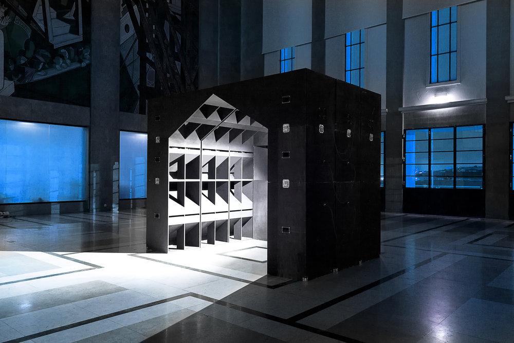 The Club, installation éphémère, Lisbonne, 2016.
